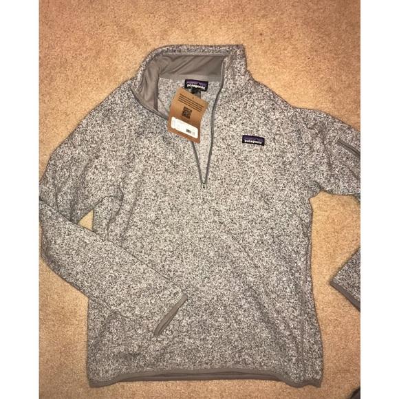 Patagonia Jackets Coats Womens Better Sweater 14 Zip Poshmark